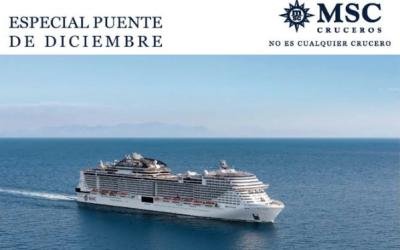 Especial Puente de Diciembre con MSC Cruceros